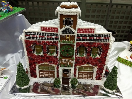 Editorial - November 14, 2017 - Rochester, NY - George Eastman Museum - gingerbread house exhibit