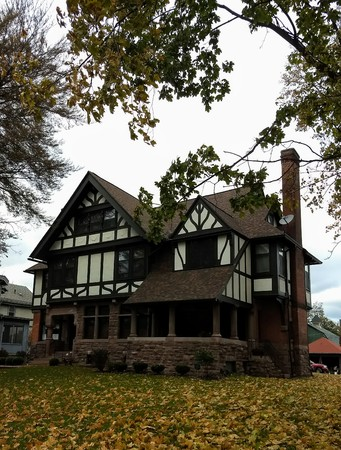 Editorial - November 16, 2017 - Rochester, NY - Historic house Editorial