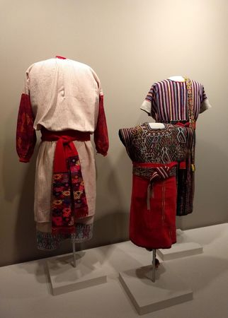 Editorial - January 6, 2018 - Ethnic garments at Mint Museum of Arts, Charlotte, NC Editorial