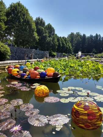 Editorial - July 21, 2018 -  Chihuly exhibit at the Biltmore Estate, NC Editorial