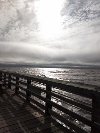 Ocean from a pier