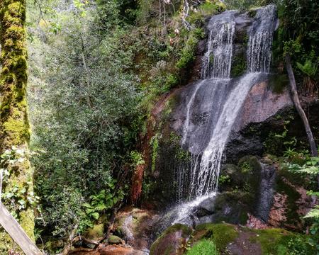 Cascata da laja in Geres - Northern Portugal