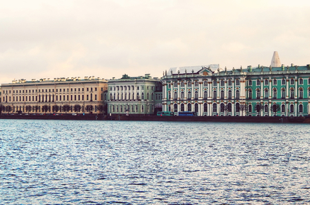 View of Saint Petersburg from Neva river  Russia photo