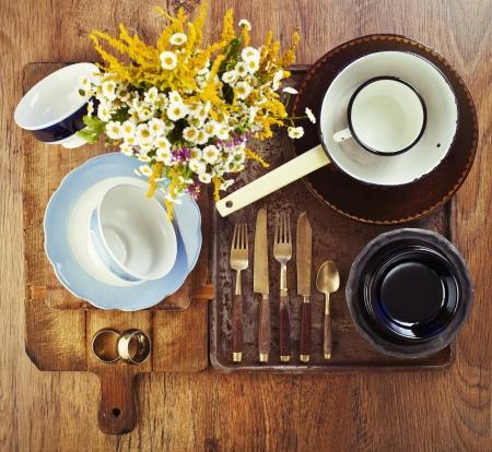 Still life of old vintage utensil Stock Photo - 18151083