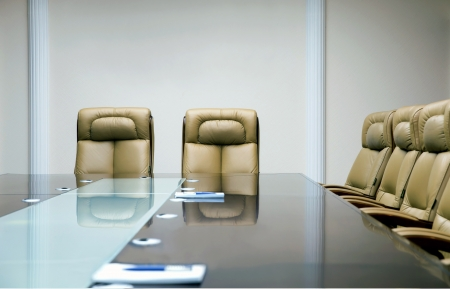 luxirious meeting room in a big corporation