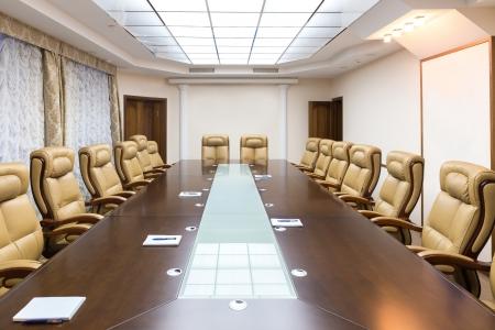 luxirious vergaderruimte in een groot bedrijf