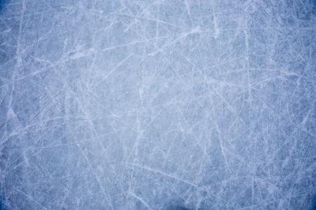 ijs achtergrond met markeringen van het schaatsen en hockey