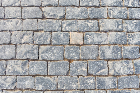 Paving stone on Red square, Moscow, Russia photo