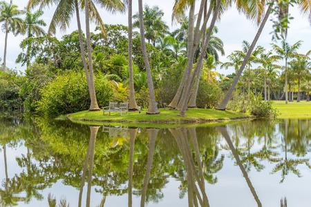 Fairchild tropical botanical garden Stock Photo