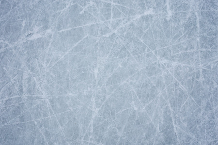 ice background with marks from skating and hockey Stockfoto