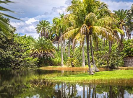 Fairchild Tropical Botanical Garden, Miami, FL, USA. Beautiful ...