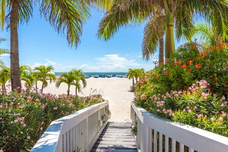 st  pete: Passeggiata sulla spiaggia di St. Pete, Florida, Stati Uniti d'America