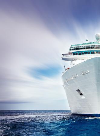 Cruiseschip Stockfoto