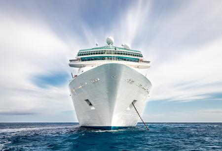 the yacht: Cruise ship