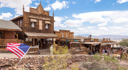 MAY 23. 2015- Calico, CA, USA: Calico is a ghost town in San Bernardino County, California, United States. Was founded in 1881 as a silver mining town. Now it is a county park. Editorial