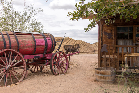 water transportation: Old wagon for water transportation