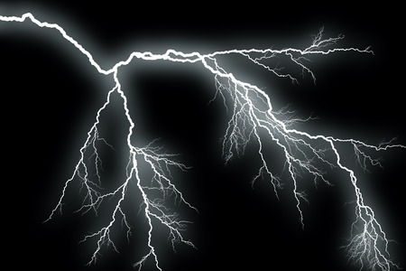 storm sky: Lightning
