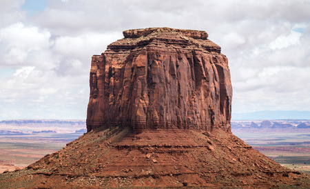 turistic: Monument Valley, popular turistic place in Utah, USA Stock Photo