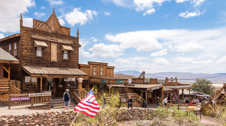 Bernardino: MAY 23. 2015- Calico, CA, USA: Calico is a ghost town in San Bernardino County, California, United States. Was founded in 1881 as a silver mining town. Now it is a county park. Editorial