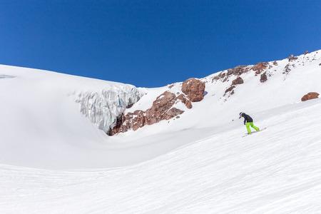 elbrus: Mountains landscape, Caucasus Russia