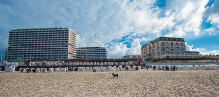 beach on the island of Sylt Stock Photo