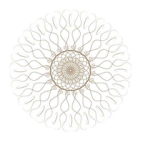 abstract circular pattern
