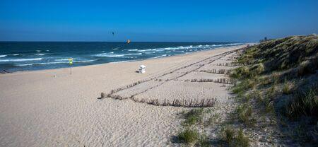 beach on the north sea. Sylt Island Stock Photo