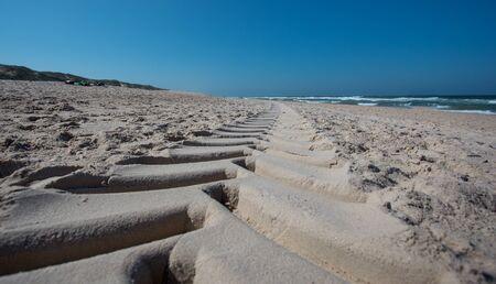 beach on the northern sea, the island of sylt.