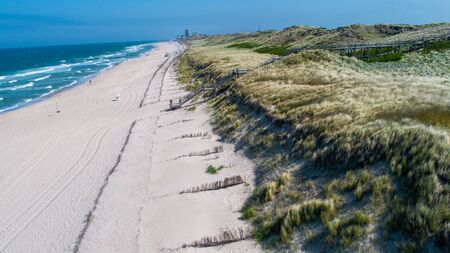Sylt Island. Beach top view