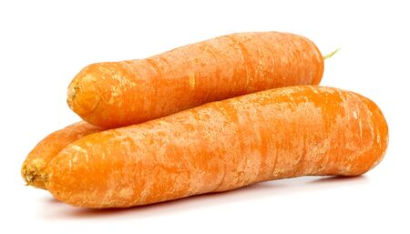 carrot on a white background Standard-Bild