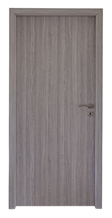 Wood door Standard-Bild