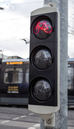 bicycle traffic light in europe