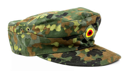 cap of a German soldier from the Bundeswehr 版權商用圖片