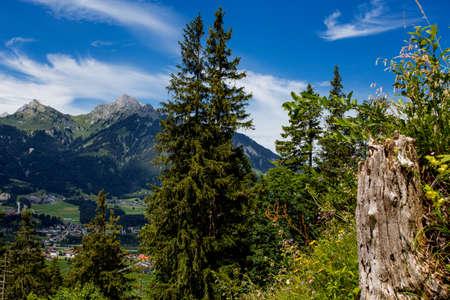 beautiful mountain landscape in bavaria 版權商用圖片