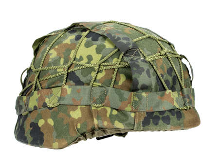 Military-Army Helmet on a white background