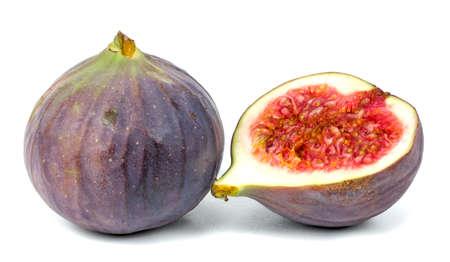 fig on white background isolated 版權商用圖片