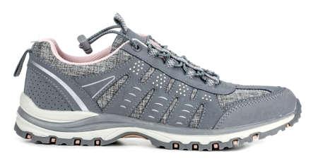 sports footwear on white background 版權商用圖片