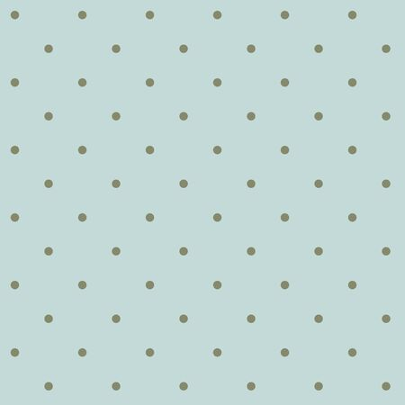 Light blue pattern with classic polka dots - green 일러스트