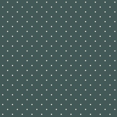 Green vector pattern with small white polka dots