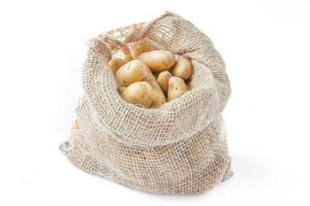 fingerling: Potato in bag