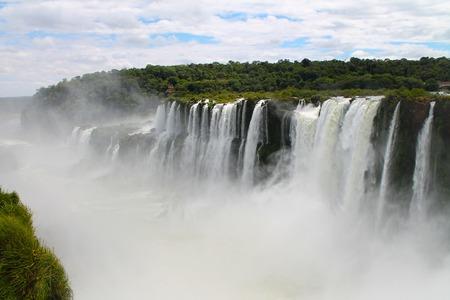 Iguazù Waterfall Stock Photo