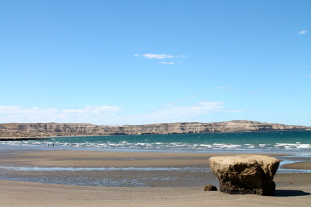 Puerto Madryn Stock Photo