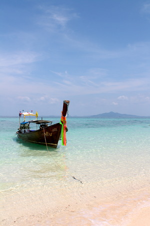 Typical boat in Thailand