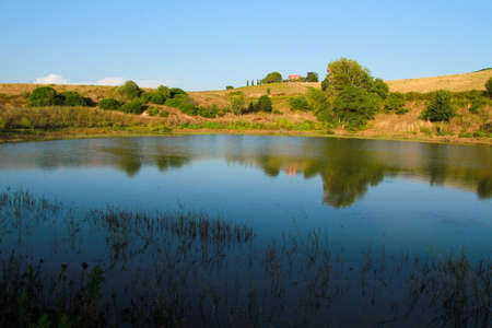 Small lake in the Tuscan Maremma.