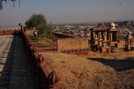 mausoleum: Jaswant Thada mausoleum in Jodhpur, India Editorial