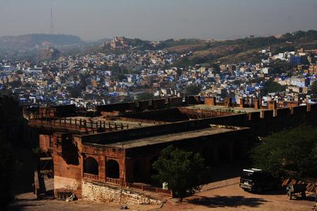 maharaja: Mehrangarh Fort in Jodhpur, India Stock Photo