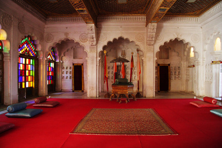 rajput: Mehrangarh Fort in Jodhpur, India Editorial