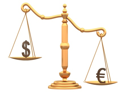 Libra shows the difference between the currencies of a white