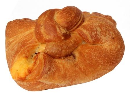 batch: Lote dulce para un desayuno en un fondo blanco