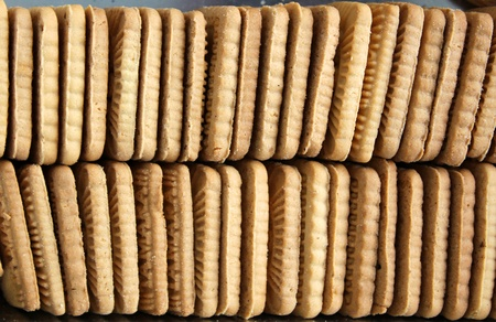 Many biscuits sweet for breakfast